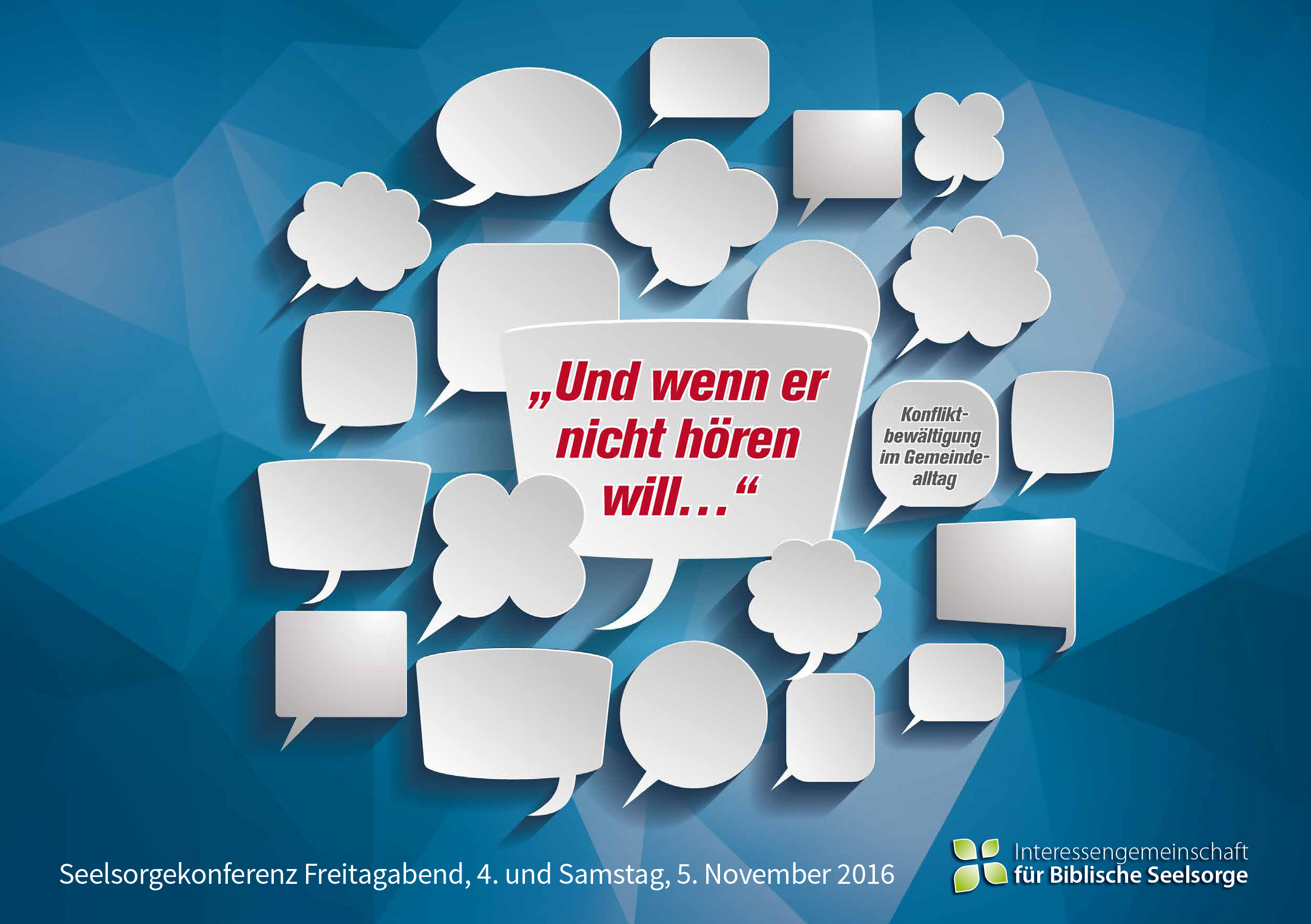 Flyer IfBS Konferenz 2016 Cover